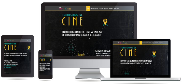 Unik Klic - Diseño Web - Territorios de Cine